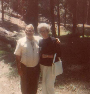 dick & mary in forest or park