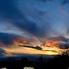 Sunset over Utah Lake.