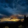 Sunset over Cedar Hills, UT.
