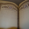 My great grandfather's family Bible with a list of marriages and births including my Grandmother, Mary Ann Larsen.  Mary Alice has the bible