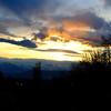 Oquirrh Mountain sunset.