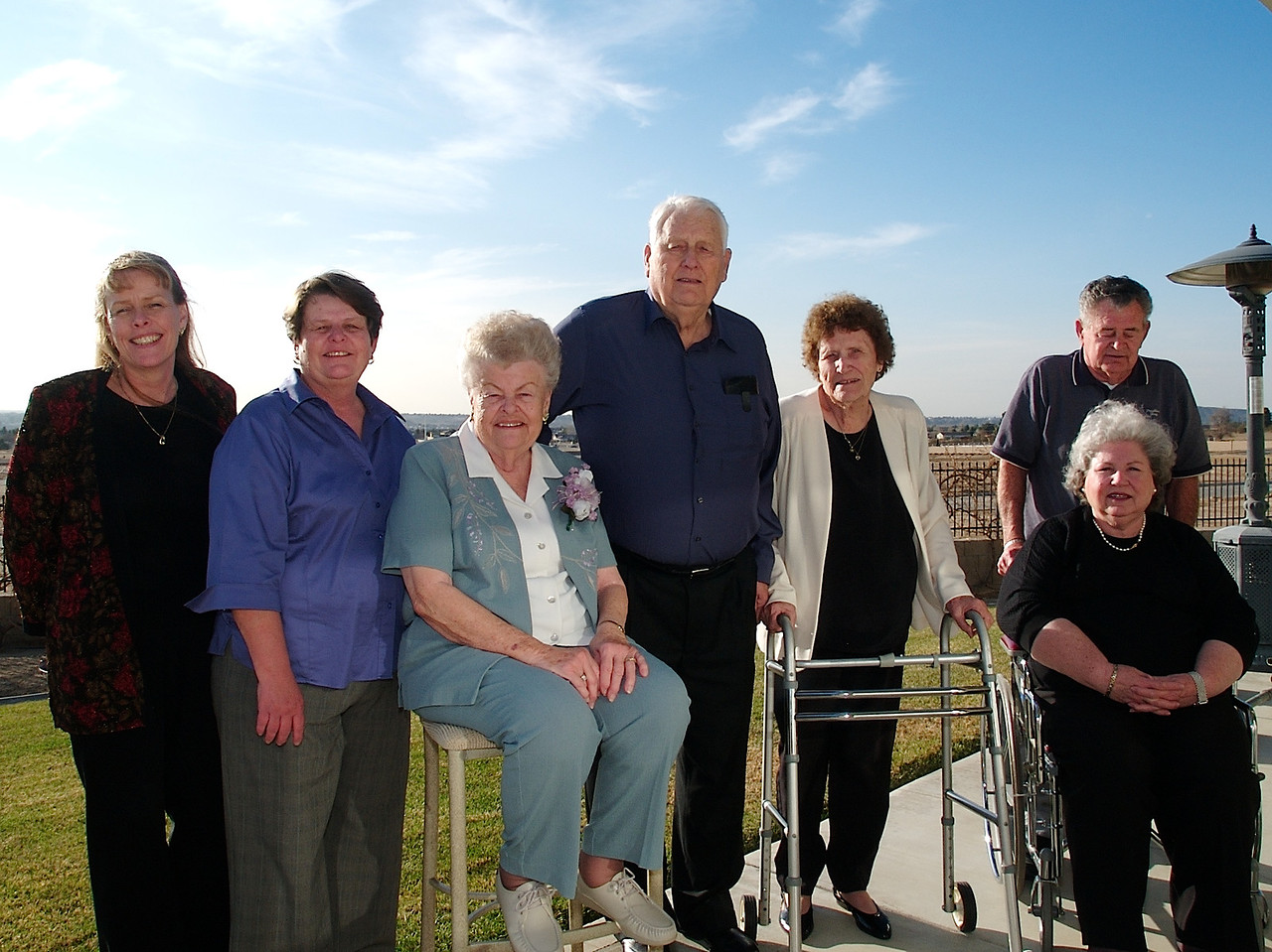 Barb, Cheryl, Ellen, Howard, Marge, Hollis and Helen.