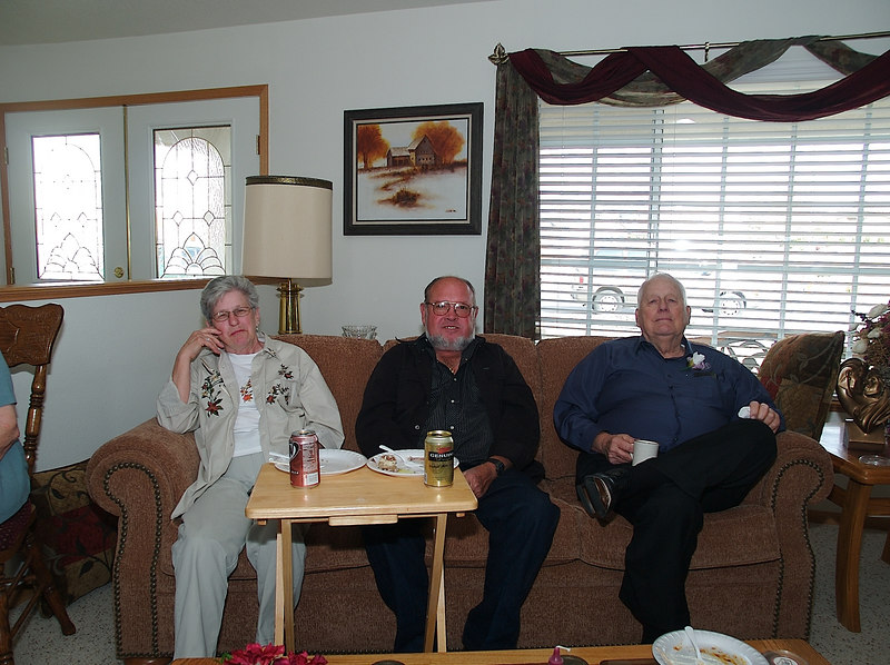 Grandpa Howard and his friends.