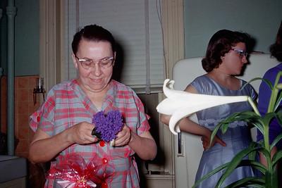 1958 Easter Grandma Wentzel & Aunt Janet