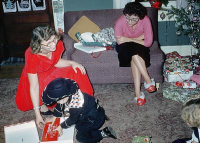 1957 Allen, Aunt Joyce, & Aunt Elaine