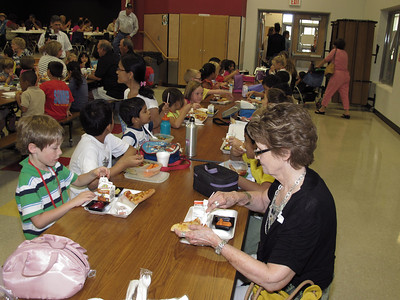 Grandparents Lunch at Sommers Elementary