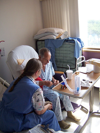 Grandpa's Surgery, June 2007