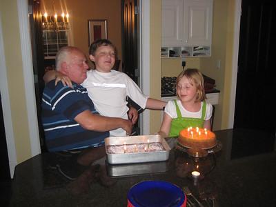 Grandpa's birthday 2010