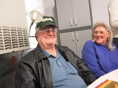 NOW HEAR THIS! -- Grandpa hears who.