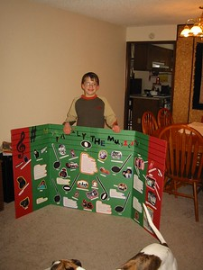 Aaron and his display of musical heritage (musicians in his family )    Jan 1, 2004.