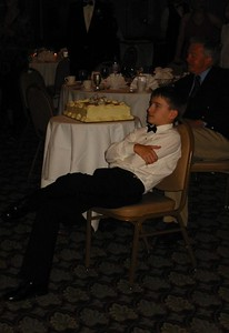 Aaron at the wedding, August 2004