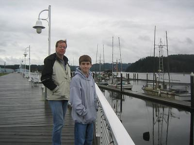 Chris, Aaron, and I traveled to the Oregon coast, Dec 2005