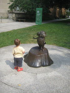 En route, we stopped at the Springfield Museums to enjoy the Dr. Seuss sculptures