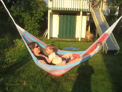 Ah!  Relaxing in the hammock