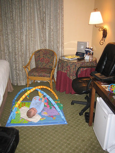 Our hotel room in Hyatt