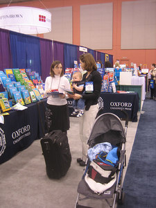 Mateo's first experience at an Exhibit hall