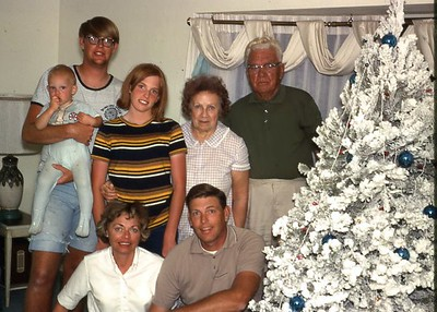 1968 Christmas in Florida with Grandma & Grandpa Hock