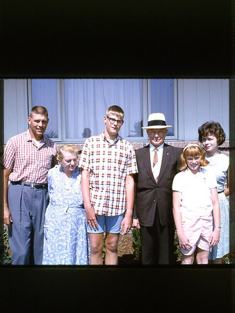 1965 with Grandma & Grandpa Graue