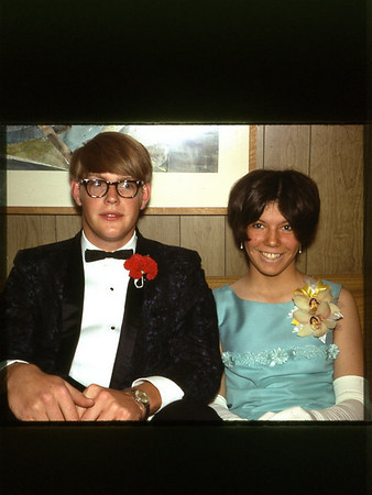 1968 Geoff with prom date