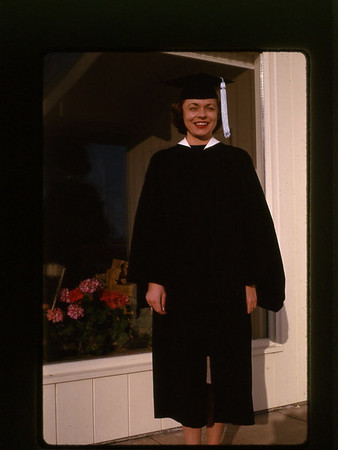 1964 Pat college graduation