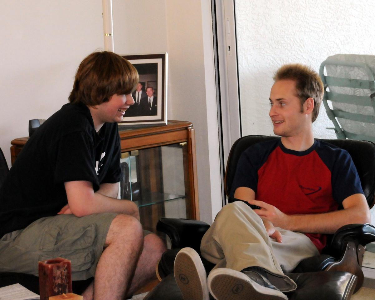 Mike and Chris
