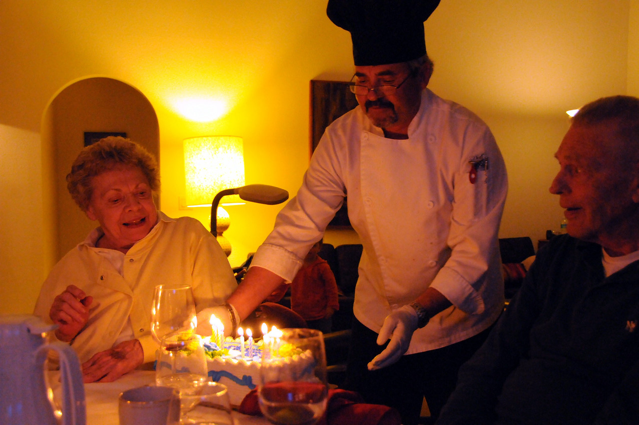 Birthday kids - Pat 80, Lou 85
