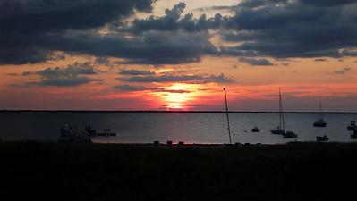 Sunset at Nantucket