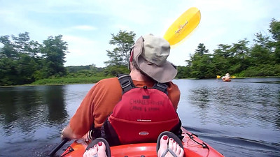 Video of kayaking on the Charles