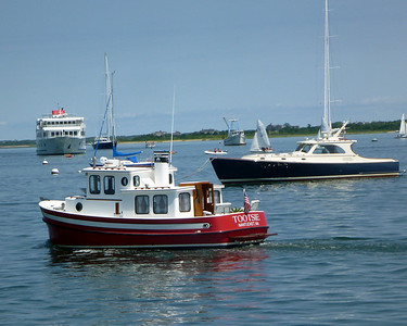 Nantucket harbor