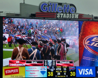 Patriots game September 2010