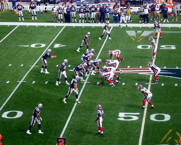 Went to Patriots game at Gillette Stadium to celebrate our 24th wedding anniversary