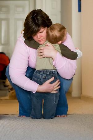 a hug for mama