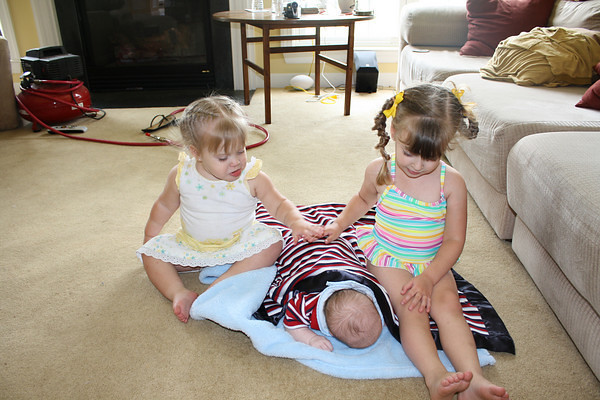 Great-Granddaughters and Son