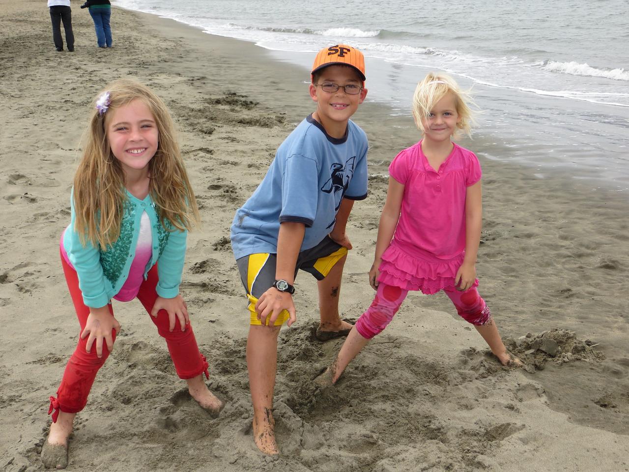 Having fun at the beach!