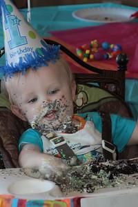 Cayden 1st birthday