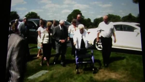 Video::  Graveside Service - Bernice Stave