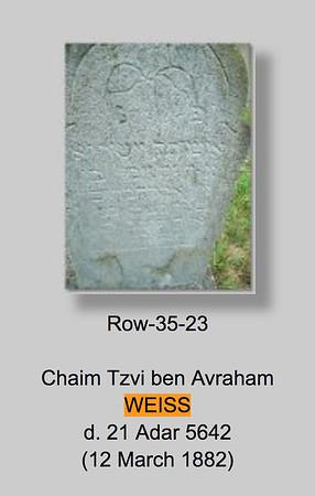 Herman Weiss Tombstone