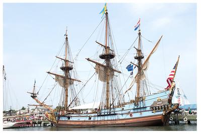 Kalmar Nyckel 1638 Flagship for Govenor Peter Minuit