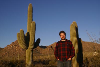 At Saguaro National Park - West