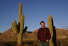 At Saguaro National Park - West