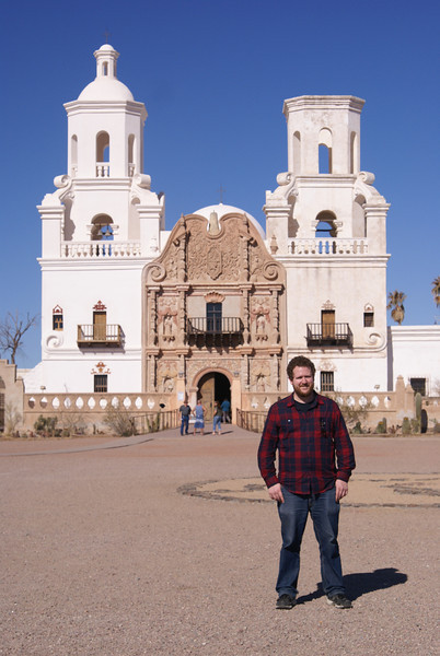 At Mission San Xavier del Bac