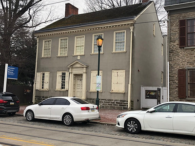 The Deshler Morris House is a historic mansion in the Germantown section of Philadelphia, Pennsylvania. It is the oldest surviving presidential residence, having twice housed George Washington during his presidency. One of his stays was during the Yellow Fever epidemic.