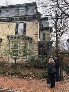 Greg's house on Penn St. in the German Town section of Philadelphia.