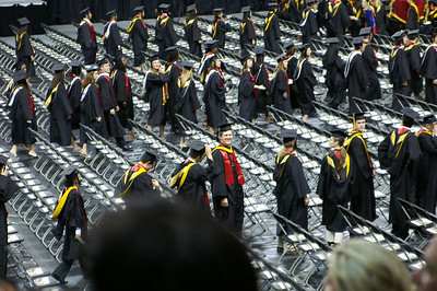 Sun, May 21, 2006 Commencement at Comcast Center