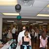 throwing the bride's garter