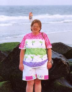 judy at beach