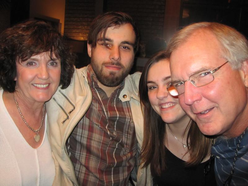 Mimi, Brady, Claire & Pop