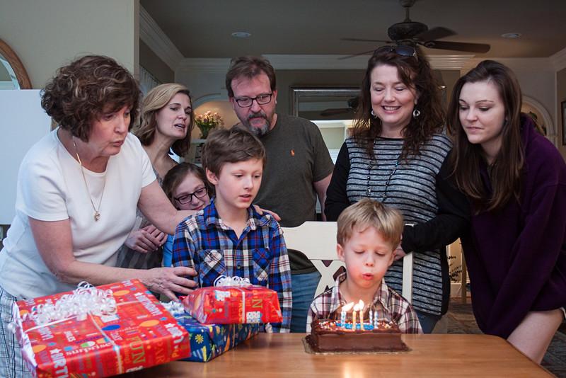 Patrick's Birthday Celebration