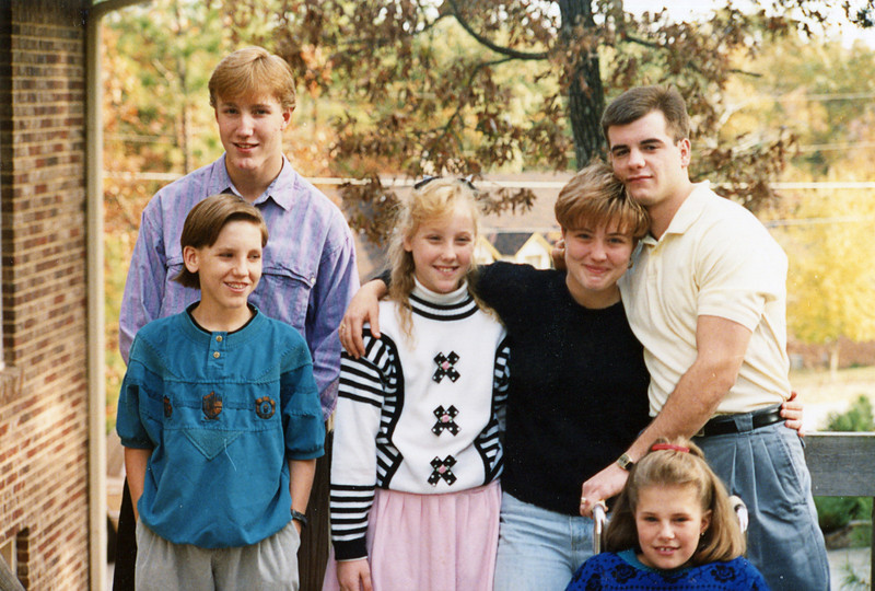 From Left: Eric, Sean, Paige, Erin, Scott and Jill