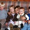 Alex, Elizabeth, Brady, Claire and Myers